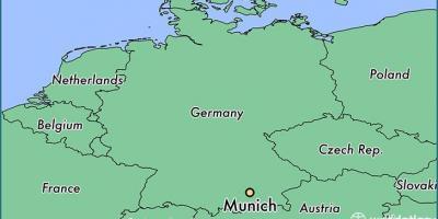 Munchenin Kartta Kartat Munchen Baijeri Saksa
